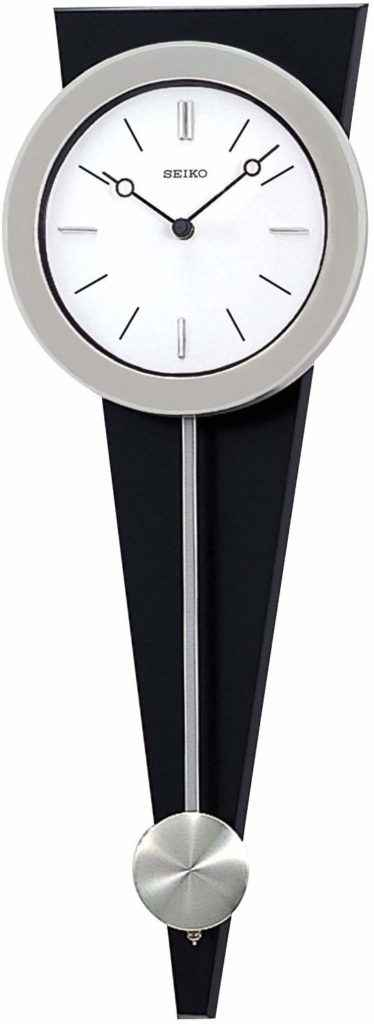 "Seiko 23"" Modern Art Clock with Pendulum to better elaborate on Pendulum Clocks"