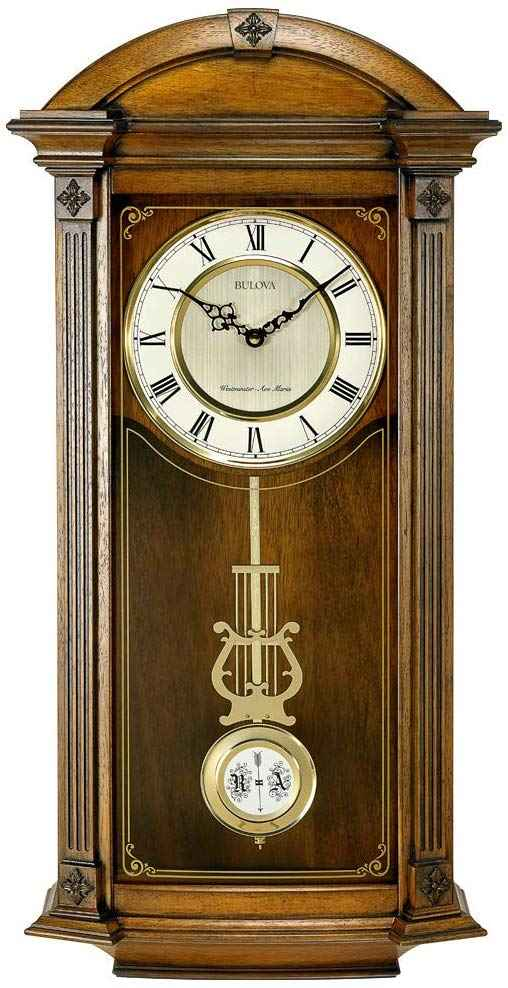 Bulova C4331 Hartwick Chiming Clock, Walnut to better elaborate on Pendulum Clocks