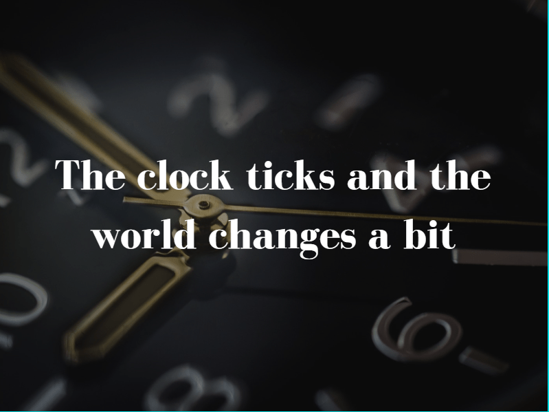 """A quote to better elaborate """"Clock Quotes 2020: To guide you rightly through every tick"""""""