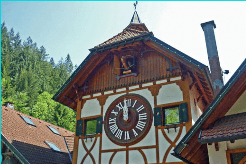 A picture of the Largest Cuckoo Clock