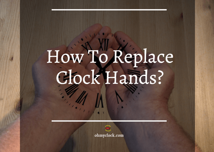 """A picture to better elaborate on """"How To Replace Clock Hands?"""""""