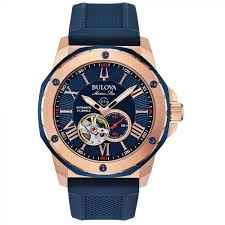 Image result for Jewel Accent Blue Silicone Strap Watch