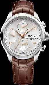 Baume & Mercier Clifton Chronograph Watches For 2014 | aBlogtoWatch