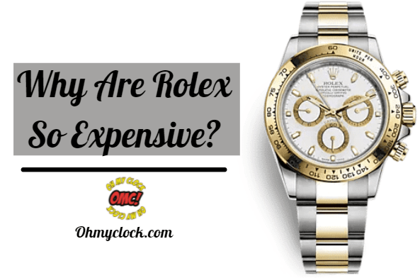 A Picture about why rolex are expensive?