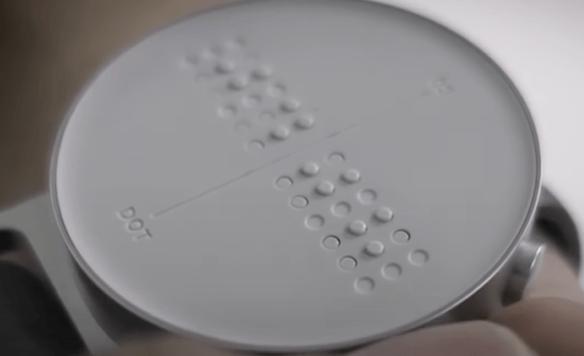 A Picture of braille watches to elaborate on braille watches
