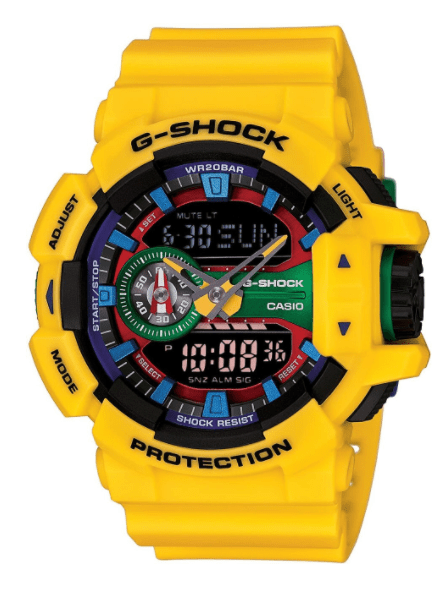 An image of a gshock watch
