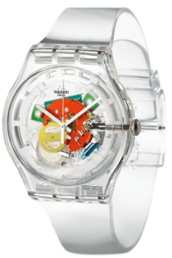 Are swatch watches waterproof by ohmyclock.com