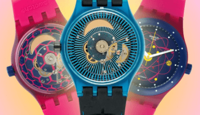 Swatch watches by ohmyclock.com