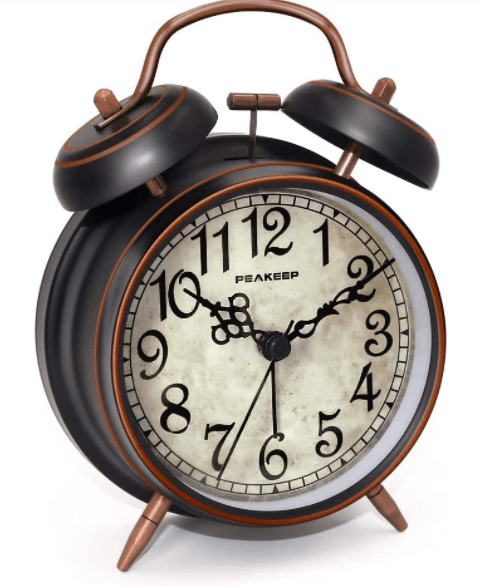 How To Set A Twin Bell Alarm Clock? by ohmyclock.com